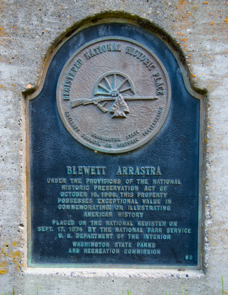 National Park Service Registered Historic Place Marker - Blewett