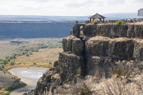 Dry Falls Shelter and Overlook