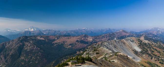 Panoramic view from Slate Peak