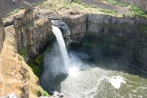 Palouse Falls from one of the many trails