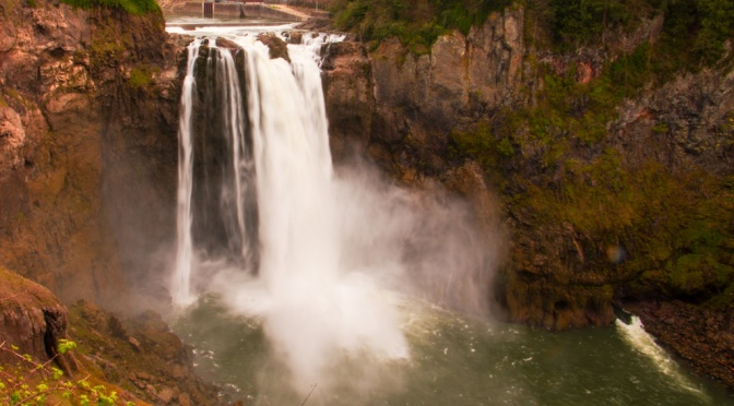 Snoqualmie Falls from one of the viewpoints