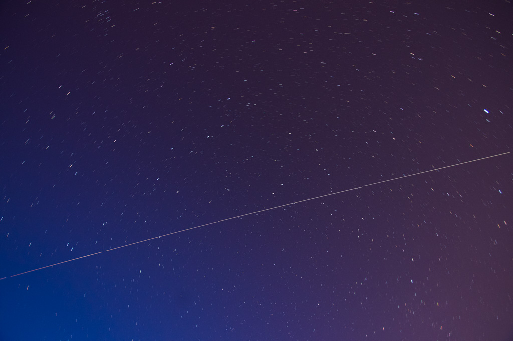 International Space Station from Edmonds, WA, Waterfront